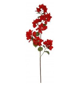 Winward Silk Flowers Artificial 95603.RD Bougainvillea Red 43in