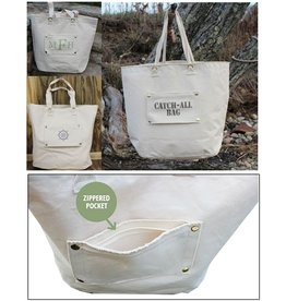 MFH Cotton Catch All Bag-23x18 with Personalized Pouch