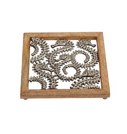 Mud Pie Sea Horse Trivet by Mud Pie Gifts 4001017