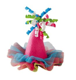 Mud Pie Mini Party Hat Hair Clip by Mud Pie Gifts