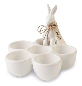 Mud Pie Bunny Egg Cup by Mud Pie Gifts Spring and Easter Decor