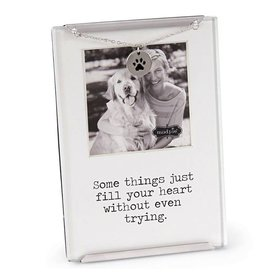 Mud Pie Pet Clip Frame Some Things Just Fill Your Heart Without Even Trying