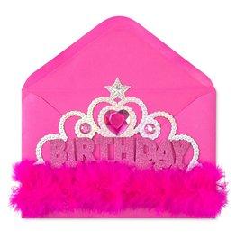 Papyrus Greetings Birthday Card Birthday Girl Wearable Tiara Card