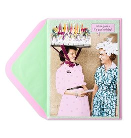 Papyrus Greetings Birthday Card Cake Hat Lady by Papyrus
