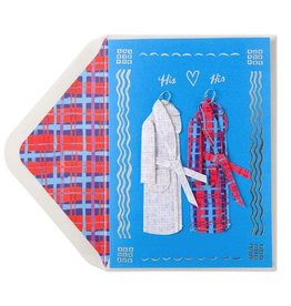 Papyrus Greetings Anniversary Card Gay Anniversary His and His Robes by Papyrus