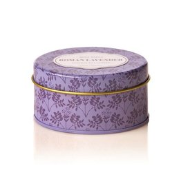 Rosy Rings Soy Candle Travel Tin 2.75oz Roman Lavender