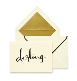 Kate Spade New York Darling Blank Fold Over Note Cards Set of 10 | Kate Spade