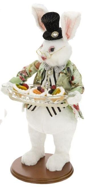 Mark roberts fairies mark roberts bunnies butler bunny with tray 20