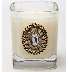 LUX Candles Fragrances CURRANT THYME 9oz Sq Glass Votive