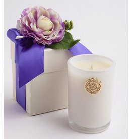 LUX Candles Fragrances Spring FRENCH LAVENDER 14oz Candle w Flower Box