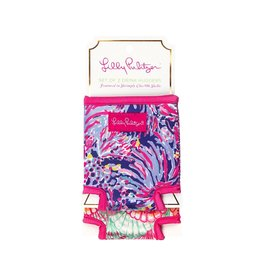 Lilly Pulitzer® Drink Hugger 2pc Set Shrimply Chic w Oh Shello