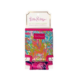 Lilly Pulitzer® Drink Hugger Set Flamenco Scuba to Cuba Lilly Pulitzer