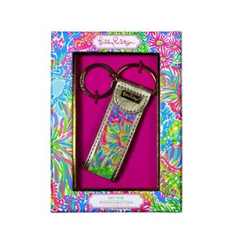 Lilly Pulitzer® Key Fob Key Ring Lovers Coral | Lilly Pulitzer Lovers Coral