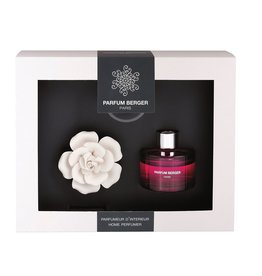 Parfum Berger Ceramic Diffuser Gift Set Mini Rose w Lavender Fieilds by Parfum Berger