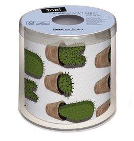 Topi Toilet Paper Cactuses Toilet Paper TOPI Designer Toilet Paper Roll