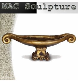 Mac Sculpture Venetian Bowl Decorative Compote