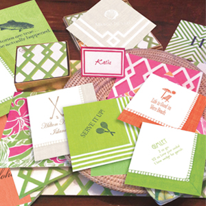 Caspari Personalized Napkins Catalog