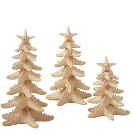 Midwest-CBK Starfish Christmas Tree Set of 3 6-8-10 inch