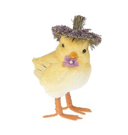 Midwest-CBK Easter-Spring Chick with Flower Decoration