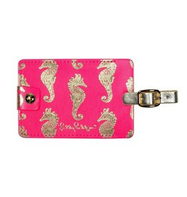 Lilly Pulitzer® Luggage Tag Sea Horse Horsin Around Lilly Pulitzer