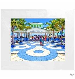 Maureen Terrien Photography Art Print Commercial Blvd Beach 11x14 - 8x10 Matted
