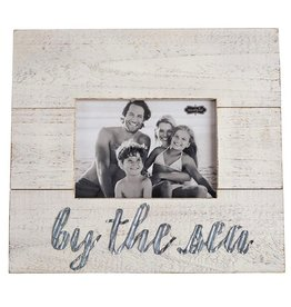 Mud Pie Wood w Tin By The Sea 5x7 Photo Frame Mud Pie Gifts