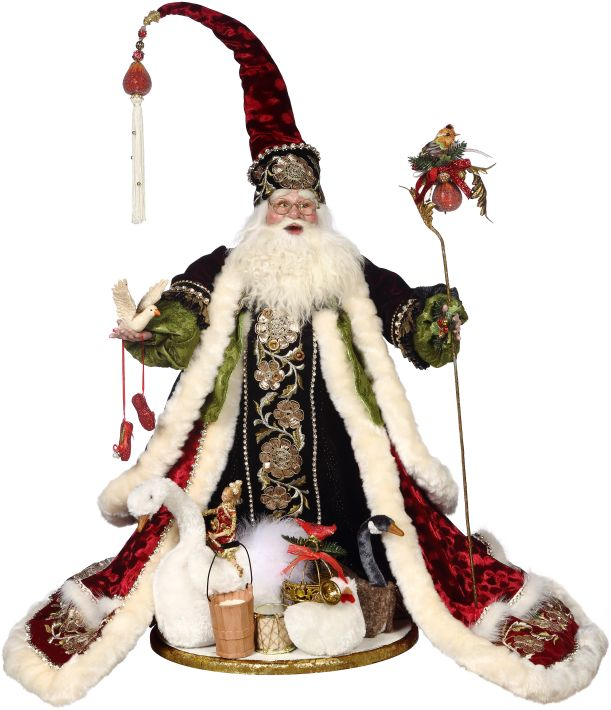 Mark Roberts Santa's Christmas Collectible Figurines