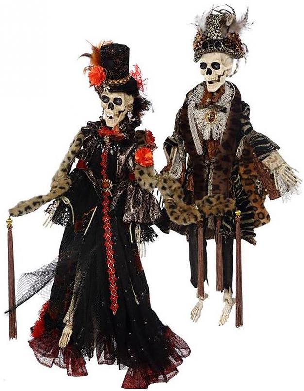 Mark Roberts Halloween Witches and Skeletons at Digs N Gifts.