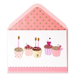 Papyrus Greetings Birthday Card Fabulous Handmade Birthday Cupcakes