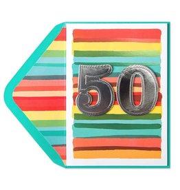 Papyrus Greetings Birthday Card 50th Watercolor 50th Birthday