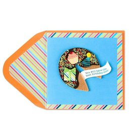 Papyrus Greetings Birthday Card Fortune Cookie w Sprinkles