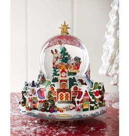 Christopher Radko Starry Night Snow Globe Musical 120mm Lit Snowglobe