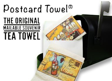 Postcard Towel