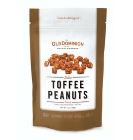 Old Dominion Peanut Company Butter Toffee Peanuts Nut Candy 7oz