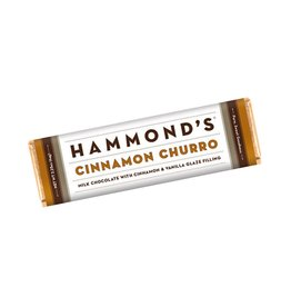 Hammonds Candies Chocolate Bar 2.25oz Cinnamon Churro