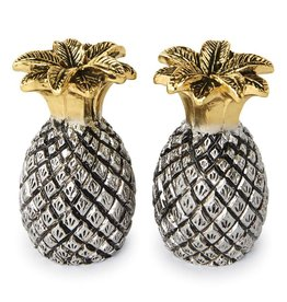 Mud Pie Pineapple Salt and Pepper Set 4505007