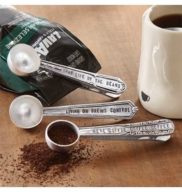 Mud Pie Coffee Scoop Grab Life By the Beans 4641004G