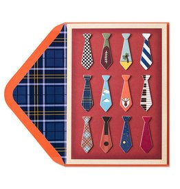 Papyrus Greetings Fathers Day Card Dads Novelty Ties
