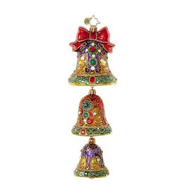 Christopher Radko Dignified Jingle Bells Ornament 1018989