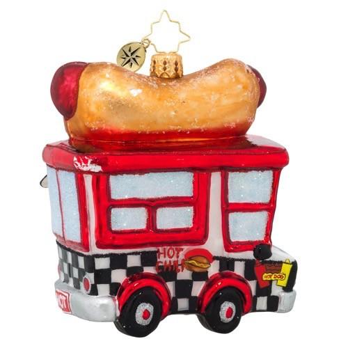 Christopher Radko Hot Diggity Dog Ornament 1018981