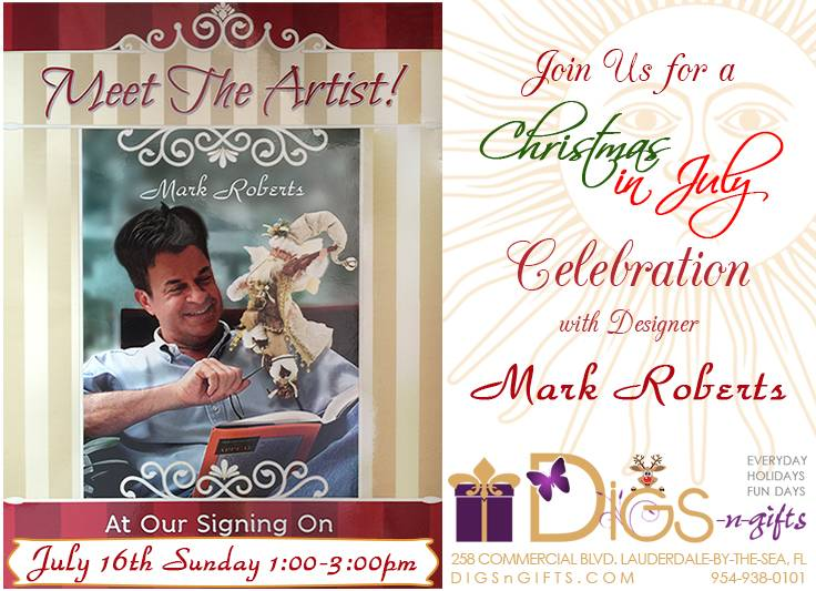 Mark Roberts Signing Event 2017 | Digs N Gifts
