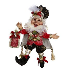 Mark Roberts Fairies Elves Christmas Proclamation Elf 51-77616 SM 10in