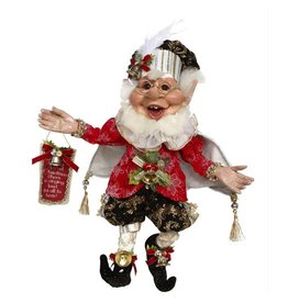 Mark Roberts Fairies Elves Christmas Proclamation Elf 51-77618 MD 16in