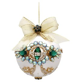 Mark Roberts Christmas Decorations Queens Jeweled Ornament Turquoise