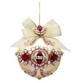 Mark Roberts Christmas Decorations Queens Ruby Jeweled Ornament