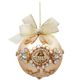 Mark Roberts Christmas Decorations Queens Golden Jeweled Ornament