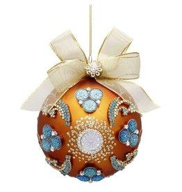 Mark Roberts Christmas Decorations Vintage Floral Jewel Ornament