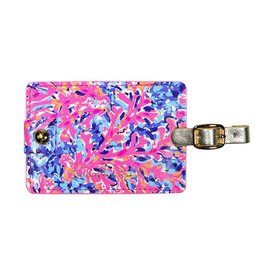 Lilly Pulitzer® Luggage Tag Coco Coral Crab Lilly Pulitzer