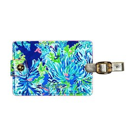 Lilly Pulitzer® Luggage Tag Wade and Sea Lilly Pulitzer