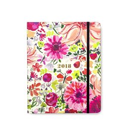 Kate Spade New York 2018 17-Month Agenda Day Planner Large Dahlia